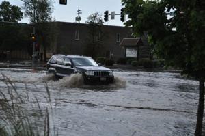 Tuesday flooding