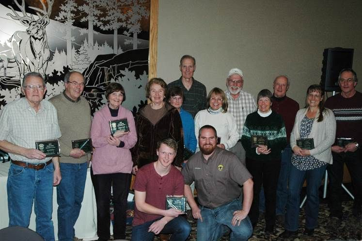 Idaho department of fish and game recognizes efforts of for Idaho department of fish and game