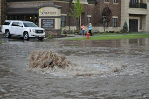 Flooding on Second East