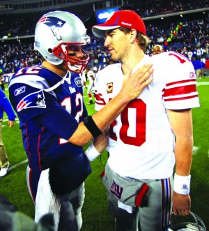 Giants and Patriots get ready for Super Bowl XLVI