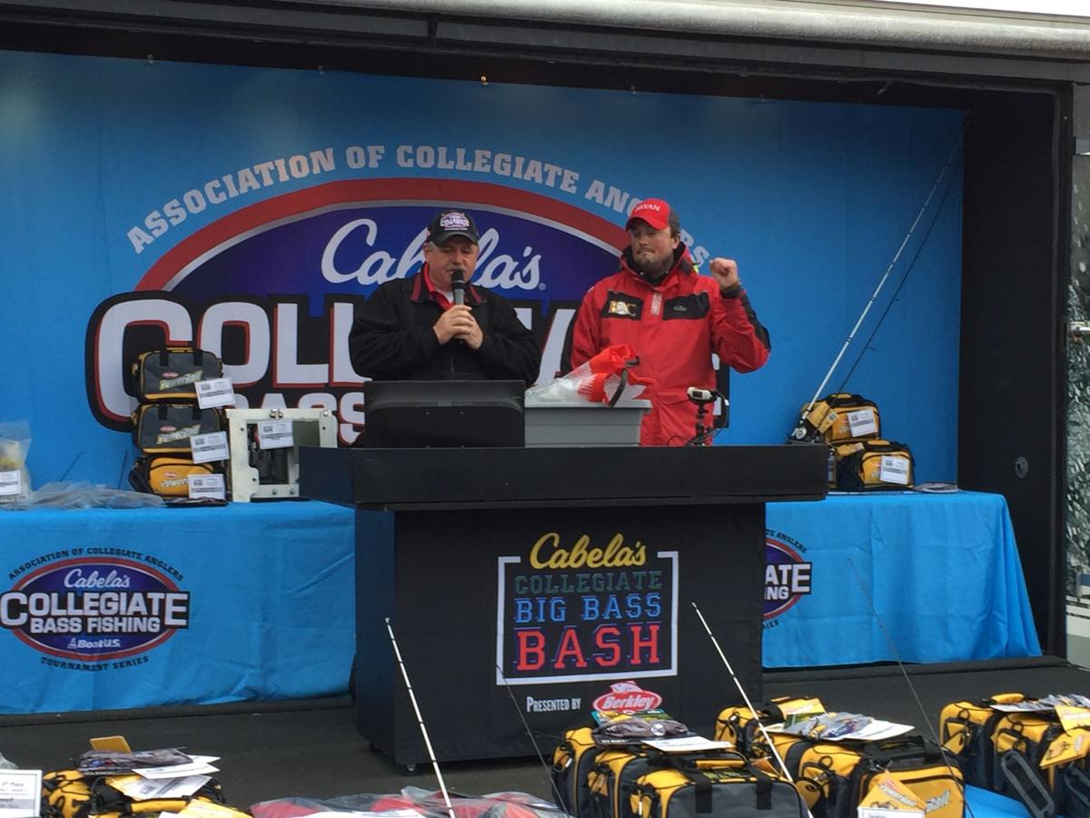Bryan college fishing jumps to no 1 in nation sports for Cabelas college fishing