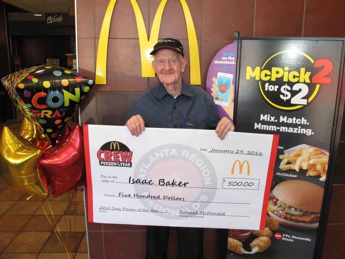 year old mcdonald s employee receives regional award news 88 year old mcdonald s employee receives regional award