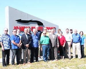 Aransas County Airport's new sign