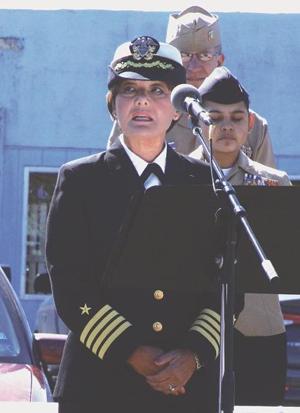 Logsdon delivers Veterans address