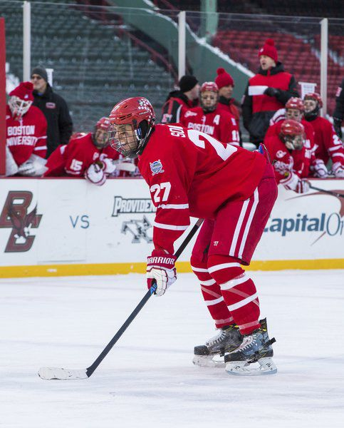 Hockey East: Big Man On Comm. Ave; BU Captain, Marblehead Native Somerby Shooting For Another Beanpot Title
