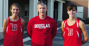 Douglas cross country record holders