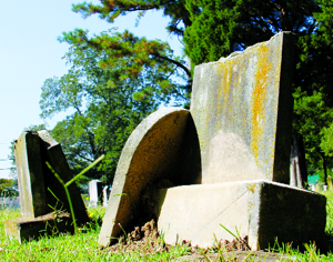 Local historian puts faces to the names on tombstones