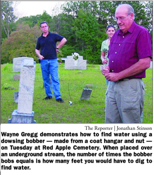 Grave dowsing piques interest in genealogy