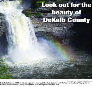 Look out for the beauty of  DeKalb County