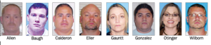 Eight arrested in drug sting