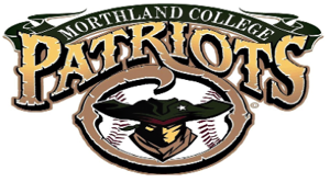 Morthland College baseball logo