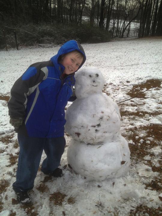 Snowman 16