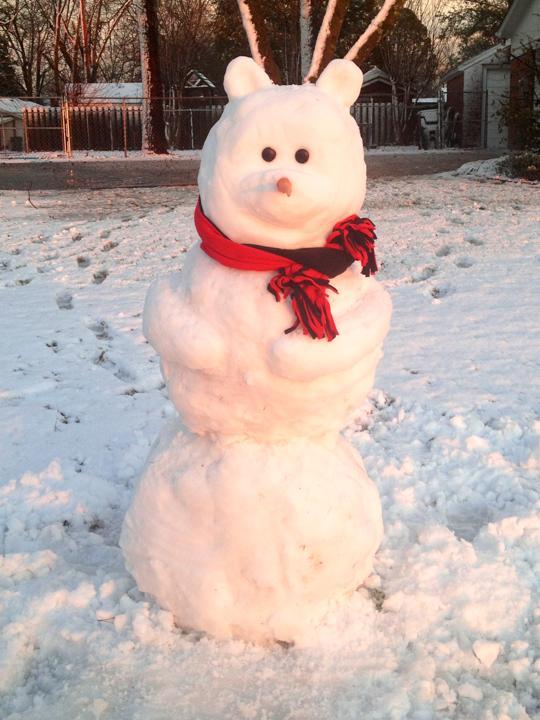 Snowman 30