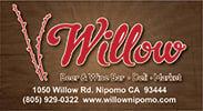 Willow Beer & Wine Bar