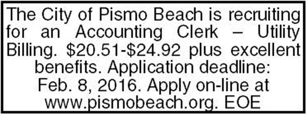 Help Wanted: Accounting Clerk