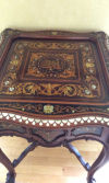 Treasures: Wooden table a tour de force of 19th-century marquetry