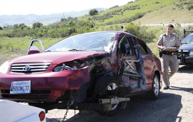Weaving Driver Causes Two Car Collision Local News
