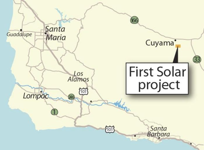 A First Peek At Cuyama Valley Solar Project