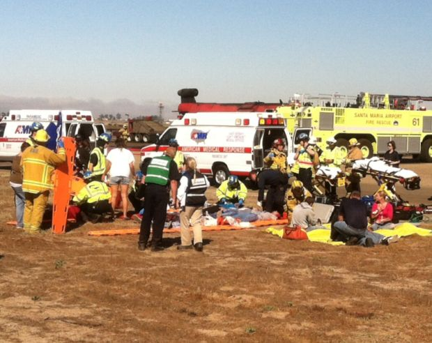 emergency response drill at sm airport