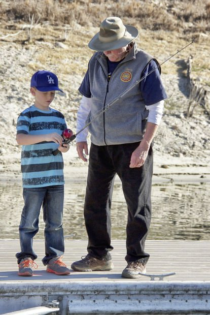 Kids Learn To Fish At Lopez Lake Local News