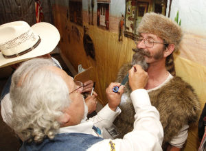Beards on display at annual event