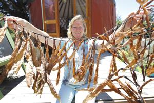 Arroyo Grande artist trades paint, potters wheel for kelp