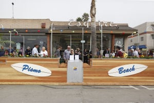 Pismo Beach parklet gets thumbs up