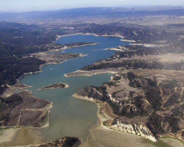 Cachuma may hit record low water levels local news for Cachuma lake fishing