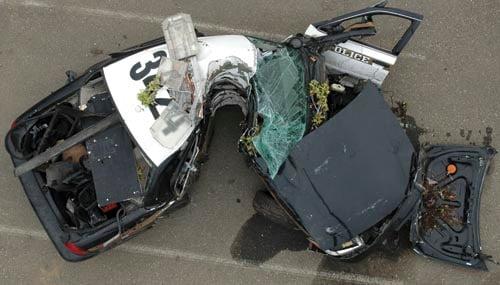 Car Auction Accident