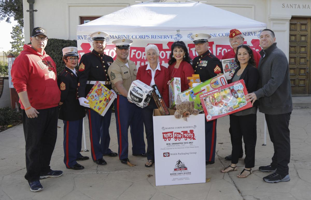 The Santa Clause 2 Toys For Tots : Toys for tots drive begins in santa maria valley local