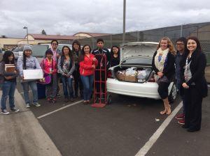 Santa Maria high students offer help at the holidays