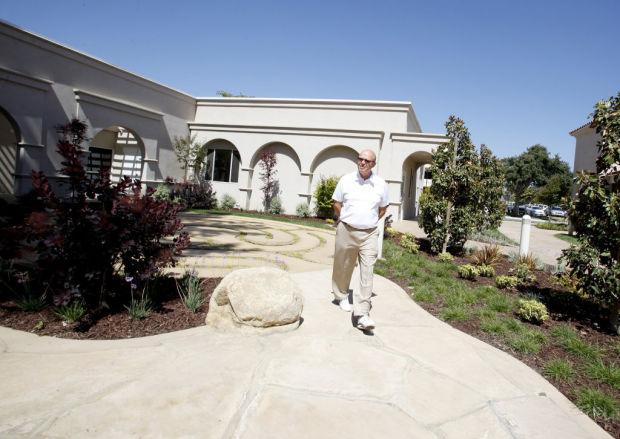 Marian regional medical center takes healing outdoors for Maria s garden center