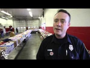 Fill the boot campaign raises money for food giveaway