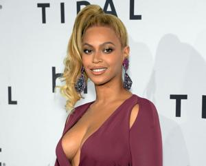 "<p>FILE - In this Oct. 20, 2015 file photo, singer Beyonce arrives at TIDAL X: 1020 Amplified by HTC at the Barclays Center in New York. A day before her performance at Sunday's Super Bowl halftime show, Beyonce has dropped a new song. Beyonce released ""Formation"" on Saturday, Feb. 6, 2016 as a free download on her artist page for the streaming service, Tidal, which she co-owns with husband Jay Z, Rihanna and other artists.</p>"