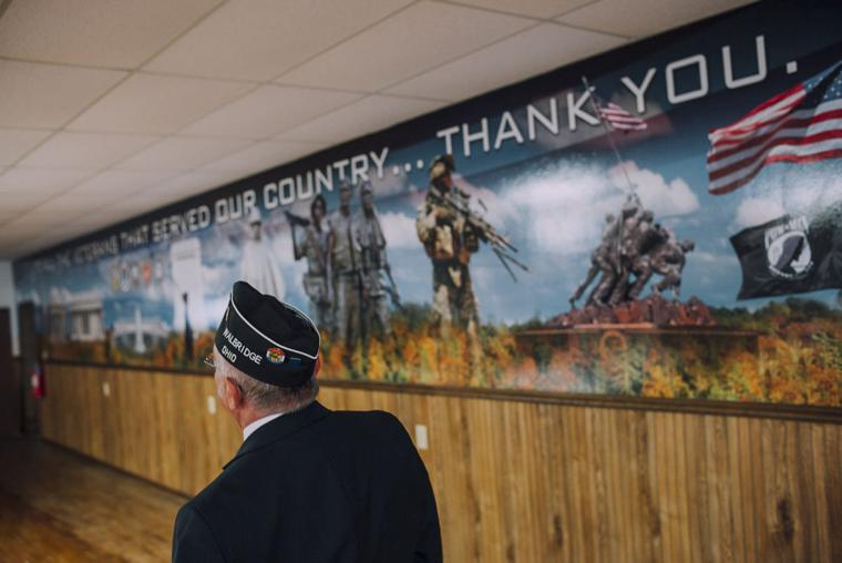 Walbridge vfw mural a thank you to veterans sentinel for Thank you mural
