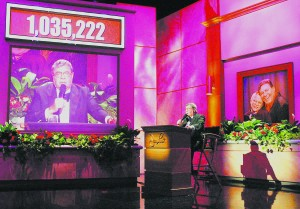 MOVE DRAWS CRITICISM  END OF AN ERA Lewis out as the host of MDA telethon