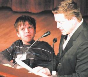 HE'S A WINNER: Windham boy aces geography bee