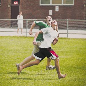 Frisbee frenzy
