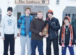 Keene boys' Nordic ski team takes second