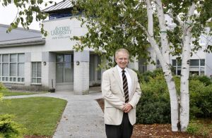 Stephen Jones is Antioch University New England's new president