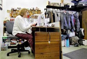 Skilled seamstress