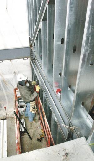 Keene Fire Station construction
