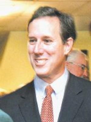 Santorum: Family values, economy are key issues
