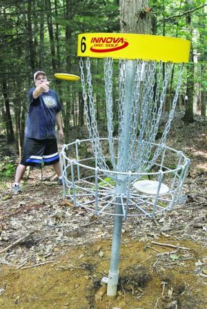 Disc golf finish