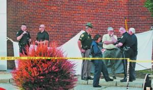 Man found on fire dies