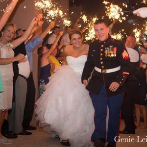 U.S. Marine Sgt. Adam C. Schoeller and Samantha