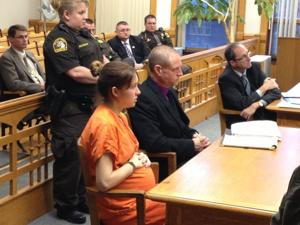 Sarah Knysz testifies about the night of Trooper Butterfield's death