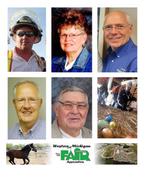<p>Community Service Award nominees include: Joe Cooper, Marcia Hansen, Vic Burwell, Wally Taranko, Jim Dittmer, Nancy Supran/Circle Rocking S Chlldren's Farm, Western Michigan Fair Board.</p>