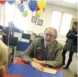 <p>Mason County District Library Director Bob Dickson retired Friday, Feb. 28, but he'll return to the library next week as a volunteer.</p>