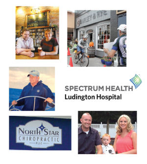 <p>Business of the Year nominees are … The Mitten Bar/Barley &amp; Rye, Kaines West Michigan Wire Co./Les Kaines, Spectrum Health Ludington Hospital, Northstar Chiropractic/Ludington CrossFit, Adam's Construction.</p>